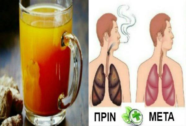 Αν είσαι καπνιστής πρέπει να το διαβάσεις: Καθαρίστε τα πνευμόνια σας εύκολα με αυτή τη θαυματουργή συνταγή