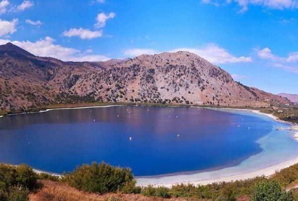 Λίμνη Κουρνά: Η πανέμορφη φυσική λίμνη των θρύλων στην Κρήτη! (photos)