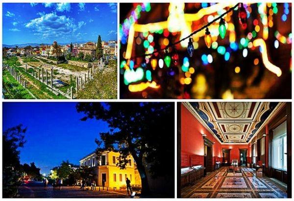 Τα ομορφότερα δωρεάν πράγματα που μπορείς να κάνεις στην Αθήνα μέχρι τα Χριστούγεννα!