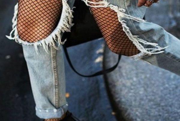 8258845839 Επιστρέφει στη μόδα! Διχτυωτό καλσόν  Πώς να το φορέσεις για να μην ...