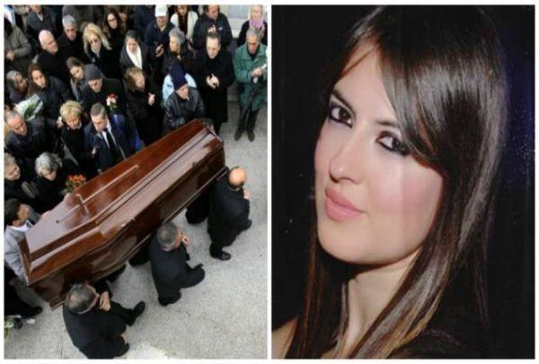 Σπαραγμός στην κηδεία της Ασπασίας που σκοτώθηκε ενώ άπλωνε ρούχα! Τραγικές φιγούρες οι γονείς της!