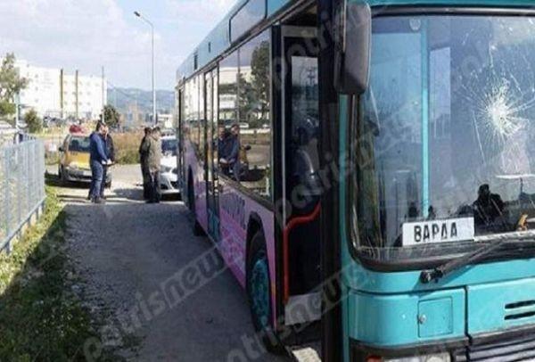 Επιβάτης ΚΤΕΛ εκτινάχθηκε στο παρμπρίζ μετά από φρενάρισμα του οδηγού! (photos)
