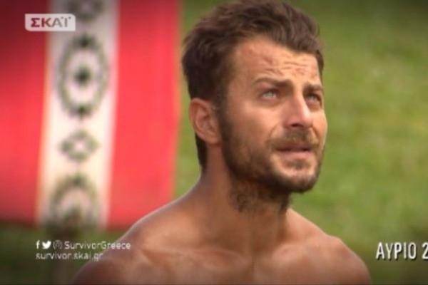 Survivor: Δεν άντεξε ο Γιώργος Αγγελόπουλος και ξέσπασε σε λυγμούς! (video)