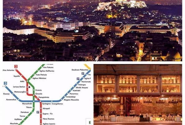 Ένας χάρτης του Μετρό της Αθήνας πολύ διαφορετικός από τους υπόλοιπους! Πού οδηγεί τους επιβάτες;