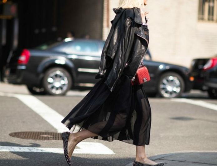 Νέα τάση για το 2017! Αυτοί είναι oι τρόποι να φορέσεις τα flat παπούτσια!
