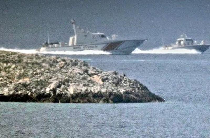 Πρόκληση χωρίς όρια! Απίστευτο βίντεο με τουρκικό πλοίο να καταδιώκει ελληνικό στα Ίμια!