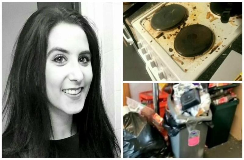 Κορίτσι για... σπίτι: Η 19χρονη φοιτήτρια που πήρε το βραβείο για το πιο βρώμικο σπίτι! Δείτε τις απίστευτες εικόνες