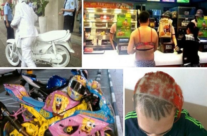 Έχουν σαλέψει οι Κινέζοι! Δεν φαντάζεστε πως κυκλοφορούν στους δρόμους (photos)