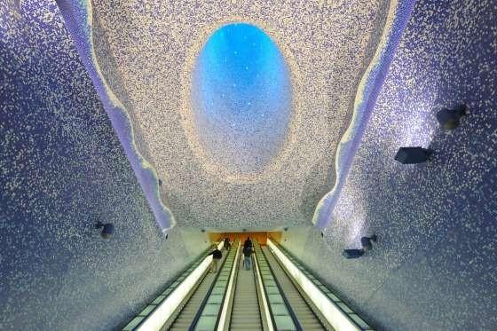 Επόμενη στάση, «μαγεία». Οι ομορφότεροι σταθμοί μετρό στον κόσμο (Photos)