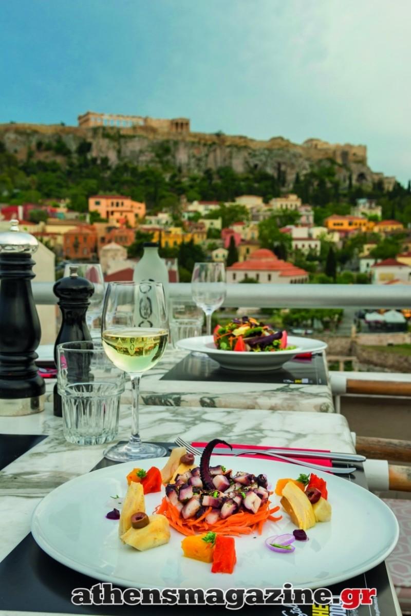Το περιζήτητο μαγαζί στην Αθήνα που μπορείς να απολαύσεις την ομορφότερη θέα της πόλης! (photos)