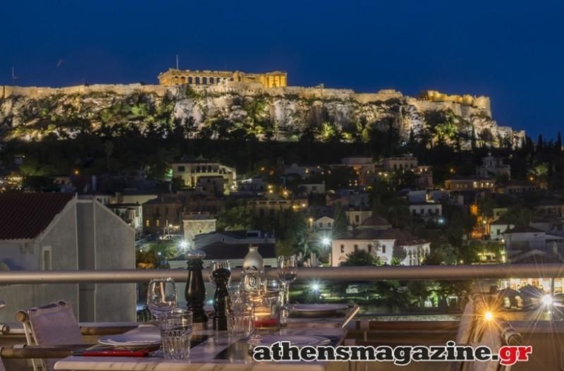 Η πιο περιζήτητη θέα στην Αθήνα κρύβεται σε αυτόν τον επίγειο παράδεισο! (Photos)