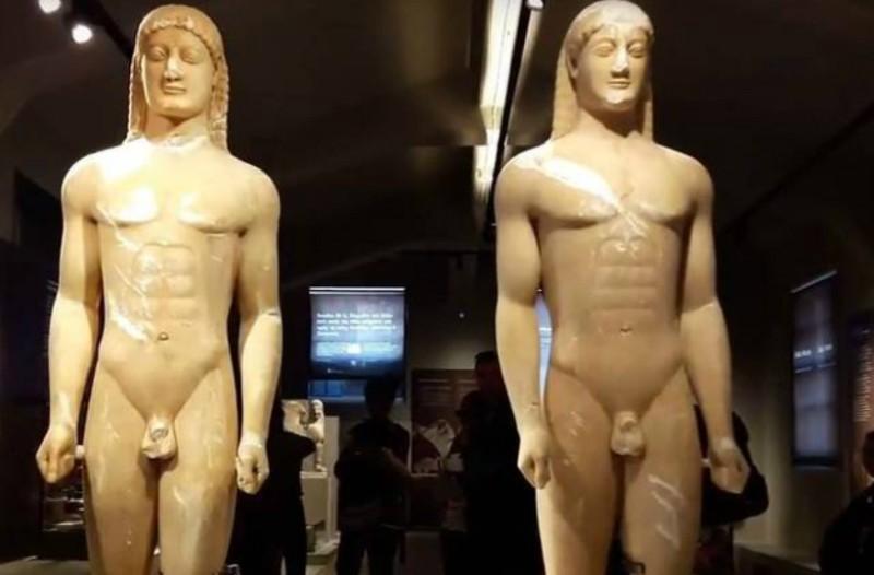 Καθηγητής έκανε μια ιστορική ανακάλυψη για τα αρχαία αγάλματα που δεν είχε παρατηρήσει κανείς! (Photos)
