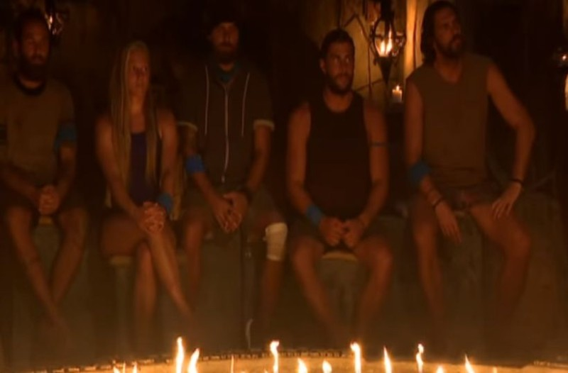 Survivor - πρόκληση: Ο πανηγυρισμός του Σπαλιάρα όταν αποχώρησε ο Μπο που σχεδόν κανείς δεν παρατήρησε! (video)
