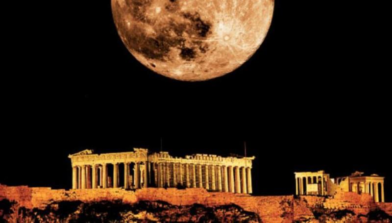 Έχει πανσέληνο απόψε κι ειν' ωραία: Το ολόγιομο φεγγάρι στον καλοκαιρινό ουρανό της Αθήνας! Μαγευτικές εικόνες... (Photos)