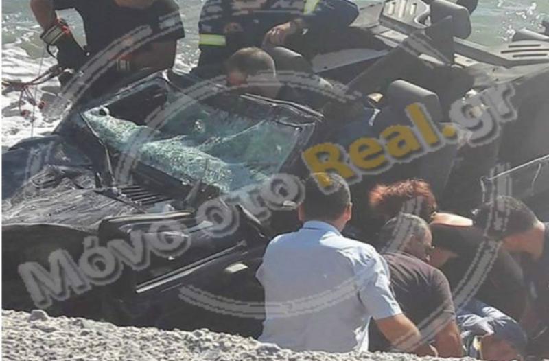 Τραγικό δυστύχημα στην Εύβοια: Προσοχή σκληρές εικόνες! Τα κορμιά των επιβατών στο τζιπ! Στο