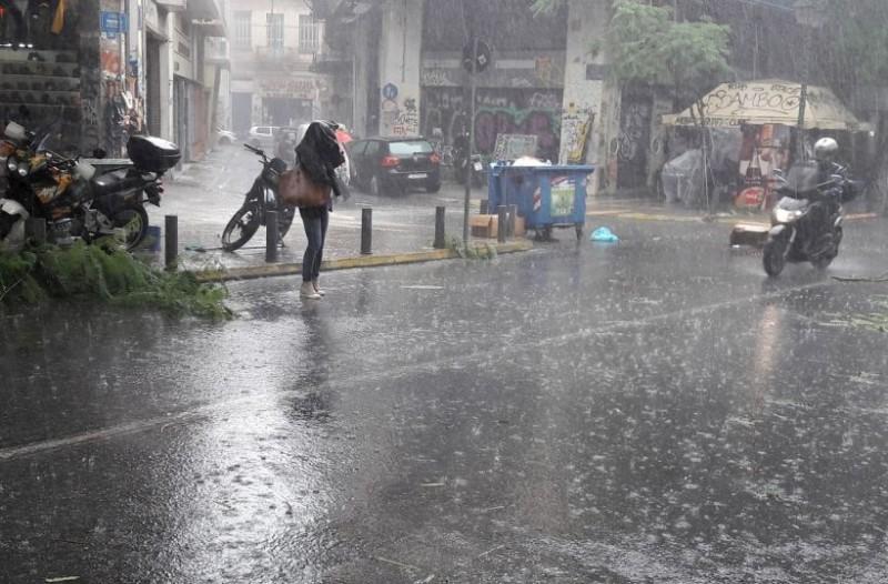 Έκτακτο δελτίο επιδείνωσης καιρού: Ισχυρές καταιγίδες και μπουρίνια!