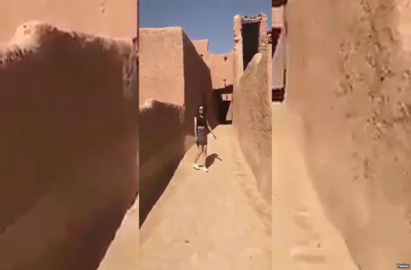 Σαουδική Αραβία: Οι αρχές ψάχνουν γυναίκα που κυκλοφορούσε με μίνι φούστα και κοντή μπλούζα (video)