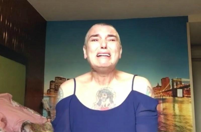 Η Sinead O'Connor ξεσπά σε δεύτερο video: