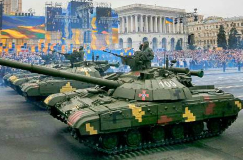 Πληροφορίες για έκρηξη με τραυματίες σε πλατεία του Κίεβο!