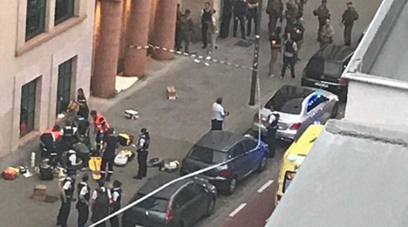 Επίθεση με μαχαίρι δέχθηκαν στρατιώτες στις Βρυξέλλες: Νεκρός ο δράστης!