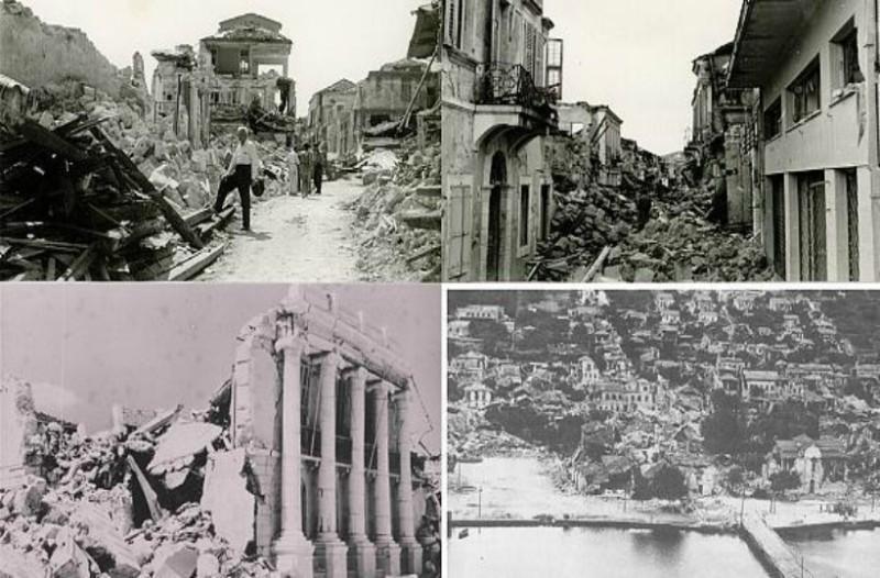 64 χρόνια μετά το σεισμό που ισοπέδωσε Κεφαλονιά & Ζάκυνθο: Video ντοκουμέντα από τις καταστροφές!