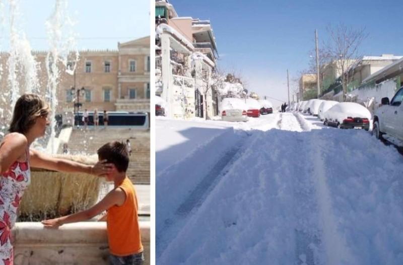 Μερομήνια: Αναλυτικά ημερομηνίες και καιρός του φετινού χειμώνα! Πότε θα κάνει ζέστες και πότε θα χιονίσει!