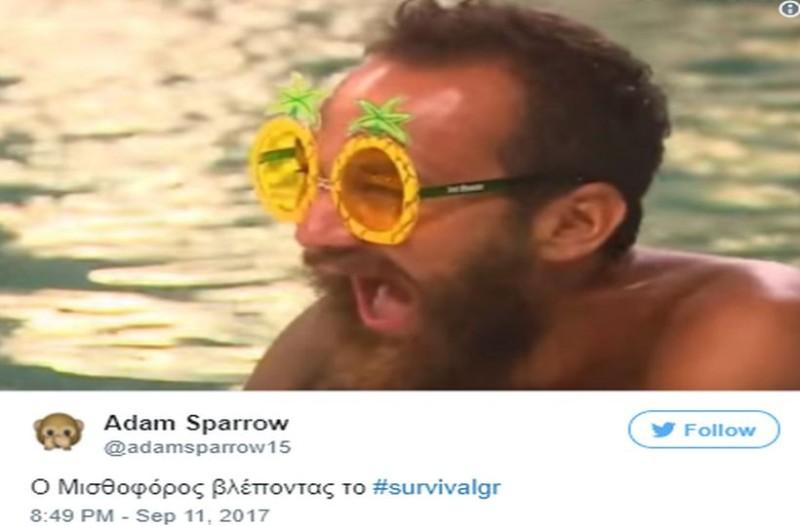 Survival Secret - Twitter: Απίστευτο κράξιμο και της... αντιγραφής! Ατάκες