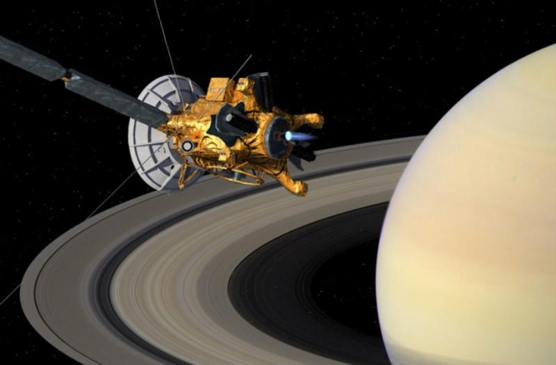 Μοναδικό θέαμα! Οι τελευταίες στιγμές που κατέγραψε το διαστημικό σκάφος Cassini λίγο πριν τον... «θάνατο» του! (video)