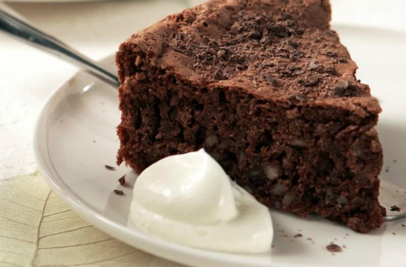 Kέικ σοκολάτας με αμύγδαλο, χωρίς γλουτένη!