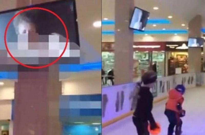Απίστευτο: Έδειξαν πορνό σε παγοπίστα για παιδιά! (video)