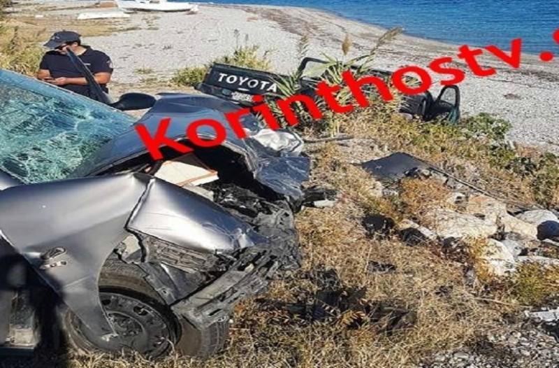 Συγκλονίζει το τροχαίο δυστύχημα στην Παλαιά Εθνική Οδό Κορίνθου - Πατρών - Νεκρός ο οδηγός (Photo)