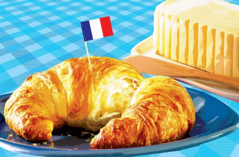 Η Γαλλία ξεμένει από... βούτυρο και κρουασάν!