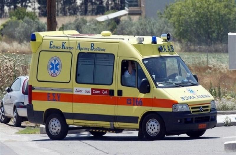 Πρωτοφανές περιστατικό στη Κρήτη: Άστεγος έκλεψε ασθενοφόρο και έκανε βόλτες στους δρόμους!