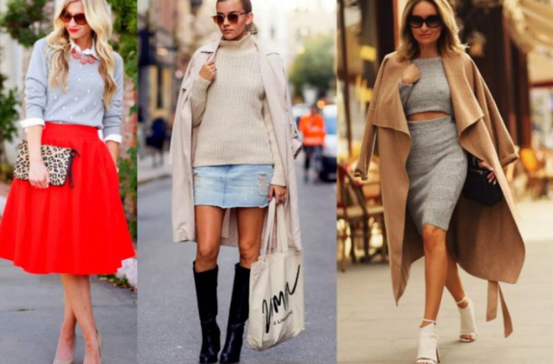 5 τρόποι για να φορέσεις το πουλόβερ σου με την φούστα σου ... c57b73006fa
