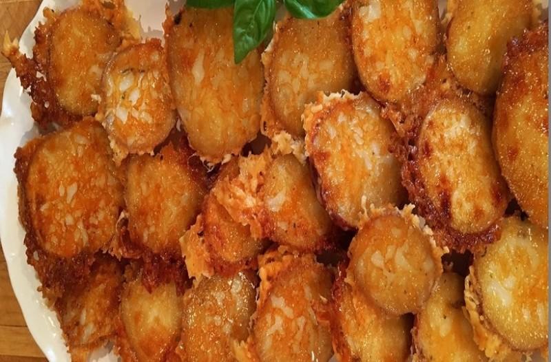 Φτιάξτε τις πιο νόστιμες και τραγανές πατάτες με παρμεζάνα!