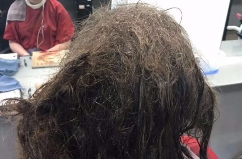 Απίστευτη ιστορία: Κομμώτρια πέρασε 13 ώρες ξεμπλέκοντας τα μαλλιά έφηβης: Δείτε πως έγινε και θα μείνετε άφωνοι! (photos)