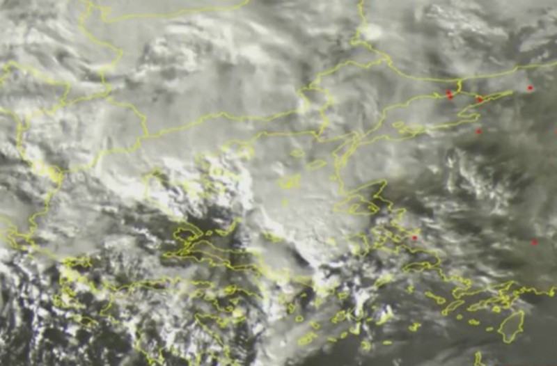 Ο «Ζήνων» φτάνει στην Ελλάδα: Δείτε πλάνα από δορυφόρο!