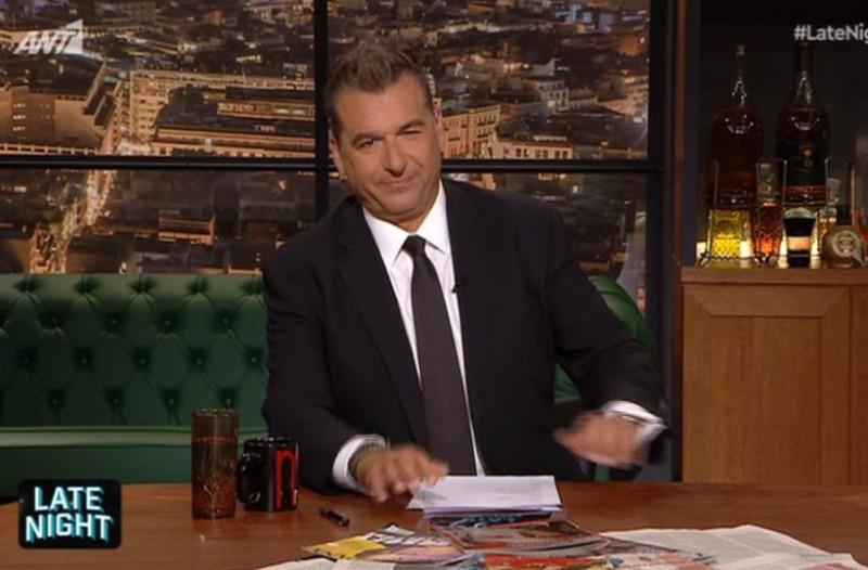 Late Night: Ρίχνει τελείως το επίπεδο ο Γιώργος Λιάγκας! Δεν πάει το μυαλό σας ποιον θα έχει καλεσμένο στην εκπομπή του!