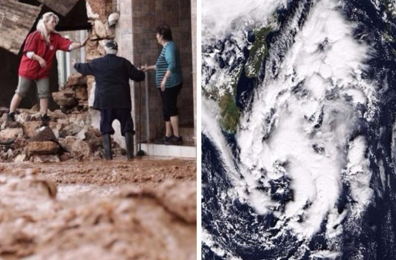 Εφιαλτικό βράδυ: Έρχεται απόψε ο μεσογειακός κυκλώνας