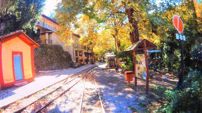 Η ξεχωριστή φθινοπωρινή βόλτα με τον Οδοντωτό! (Photo & Video)