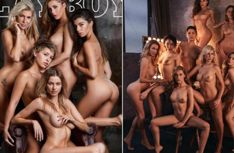 Για άντρες... απαιτητικούς: Καυτές, ολόγυμνες καλλονές στο γερμανικό «Playboy»