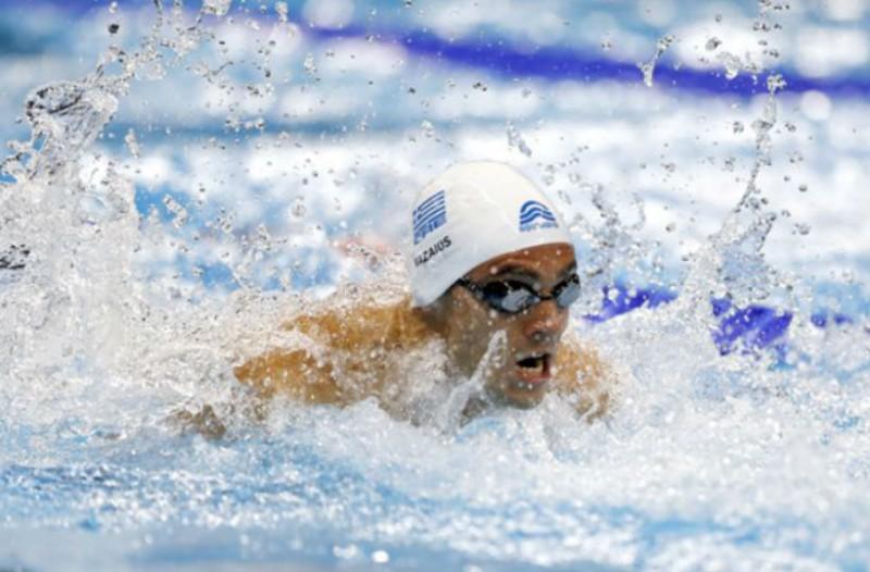 Ασημένιος στο Ευρωπαϊκό πρωτάθλημα κολύμβησης ο Βαζαίος!
