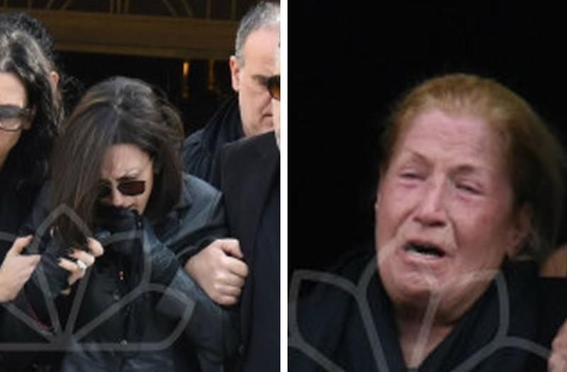 Σπαραγμός και οδύνη στην κηδεία του Βασίλη Μπεσκένη: Κατέρρευσε η μητέρα του, ράκος η γυναίκα του! (photos)