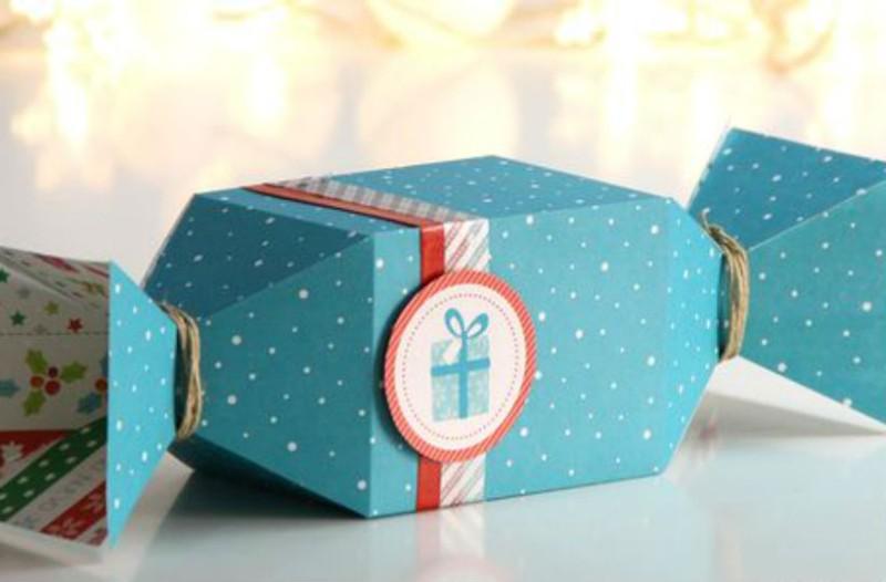 Φτιάξτε μόνοι σας εύκολες και όμορφες συσκευασίες για δώρα Χριστουγέννων! 70117eb2739