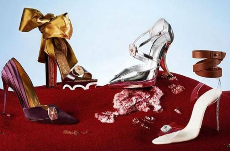 Ο Christian Louboutin σχεδιάζει μοναδικά παπούτσια εμπνευσμένα από ...