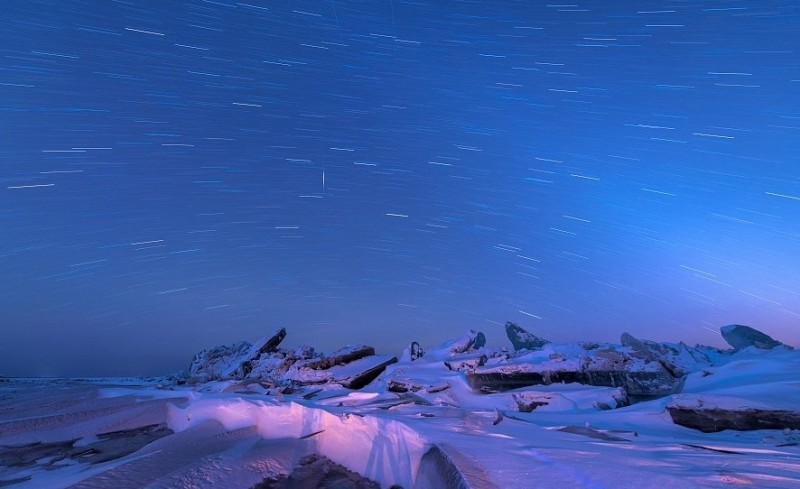 Ένα μαγευτικό θέαμα: Το εντυπωσιακό τείχος από πάγο στα σύνορα Κίνας - Ρωσίας! (Photo & Video)