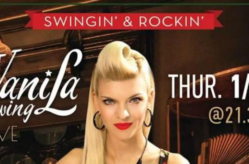 Ξεκινάμε τον Φλεβάρη με Vanila Swing στο Green Rose Beer Restaurant!
