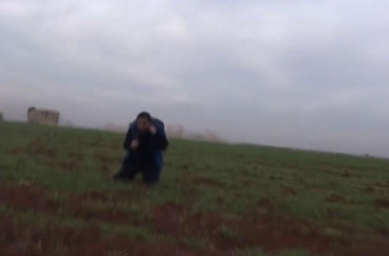 Δημοσιογράφος στη Συρία γλίτωσε από βόμβα τελευταία στιγμή!