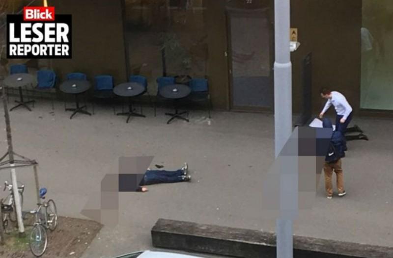 Πυροβόλησαν δύο άτομα έξω από τράπεζα στη Ζυρίχη!
