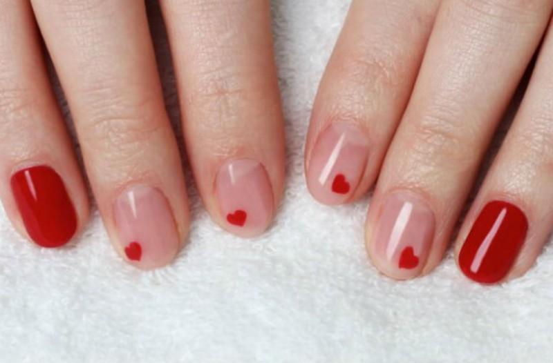 Ιδέες για νύχια για του Αγίου Βαλεντίνου!